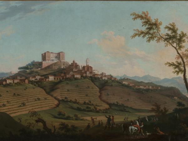 V. Amedeo e A. Cignaroli, Veduta di Govone, fine XVIII sec., olio su tela