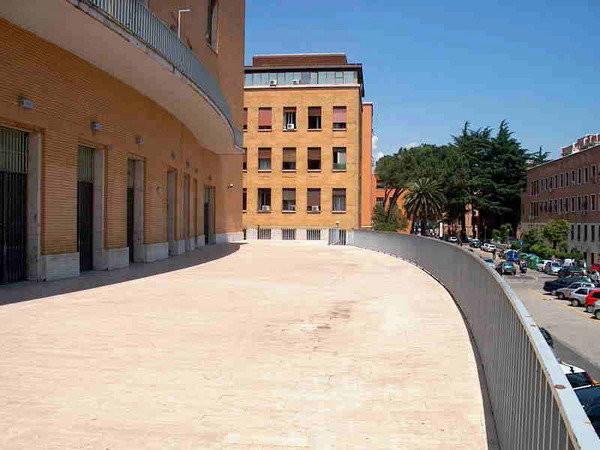 Mlac - Museo Laboratorio d'Arte Contemporanea, Roma, terrazza esterna