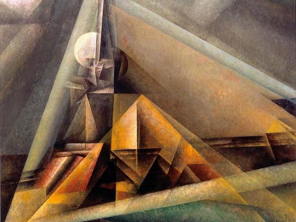 Lyonel Feininger, Gaberndorf I, 1921, olio su tela