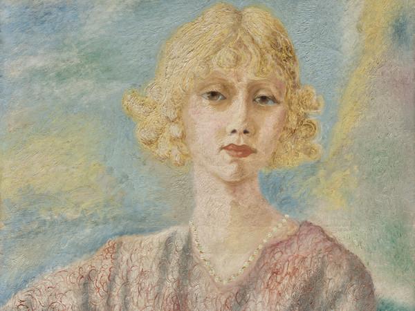 Alberto Savinio, Ritratto di Mademoiselle Parisis, 1929, Olio su tela   Courtesy ED Gallery Piacenza