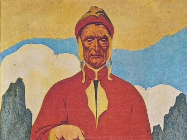 Teodoro Wolf Ferrari, <em>Locandina Olivetti</em>, Sarà esposta nella mostra <em>Dante. Gli occhi e la mente. Un'epopea pop</em>, MAR – Museo d'Arte della città di Ravenna