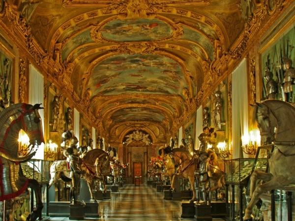 Galleria Beaumont,Armeria Reale, Torino.
