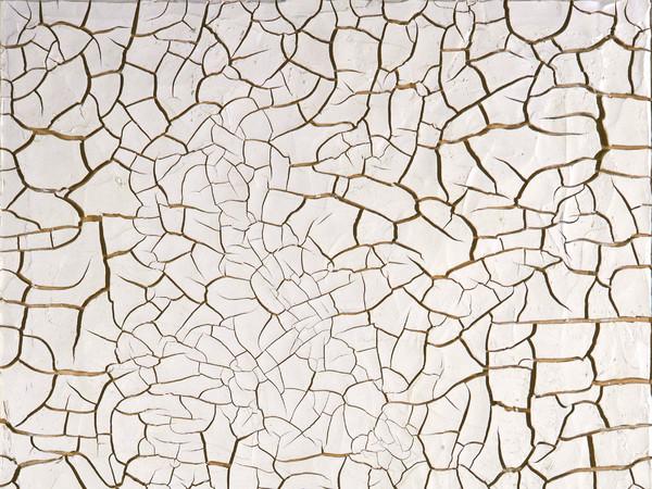 Alberto Burri,<em> Cretto G2, 1975</em>, <span>acrovinilico su cellotex, 172x151,5 cm. Fondazione Palazzo Albizzini Collezione Burri, Città di Castello</span>