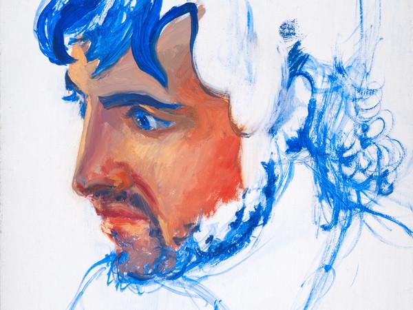 Roger de Montebello, <em>Peter</em>, 2006, Olio su pannello, 16 x 22 cm