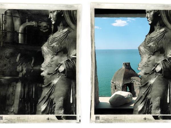Esempio di foto originale e in realtà aumentata visibile con HP Reveal