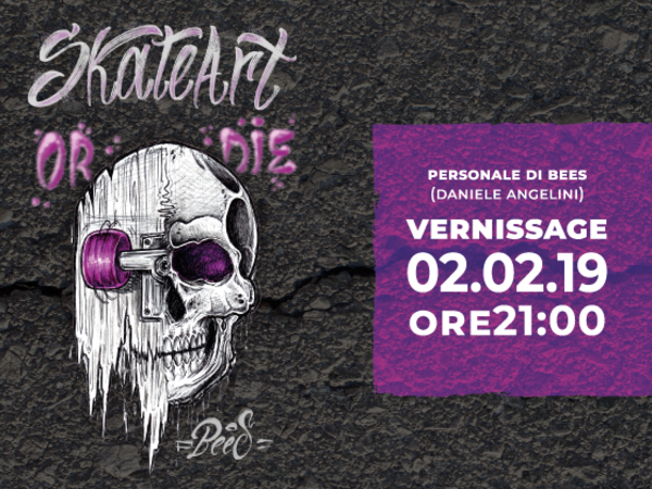 Daniele Bees Angelini, Skate Art, Spazio espositivo U Jùse, Locorotondo (BA)