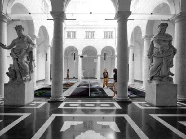 Palazzo Bianco, genova, interno