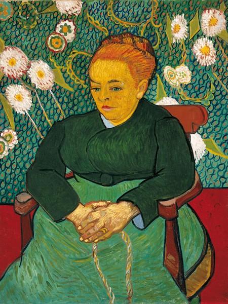 Vincent Van Gogh, Madame Roulin (La Berceuse), 1889, Olio su tela, 92.7 x 72.7 cm, Boston, Museum of Fine Arts | © Museum of Fine Arts, Boston