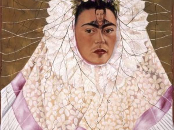 Frida Kahlo, Diego on my mind (Self-portrait as Tehuana), 1943, Mexico City, The Vergel Foundation