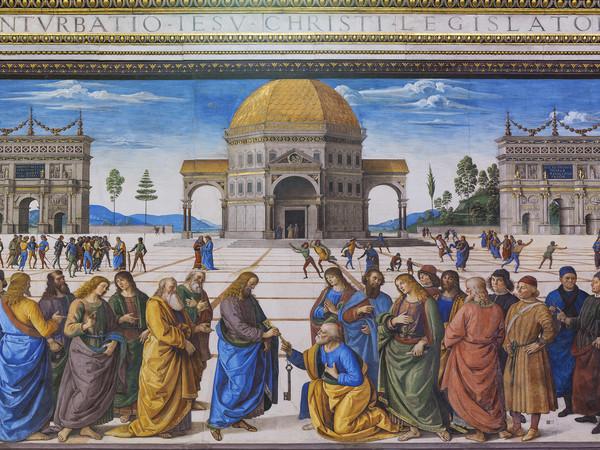 Foto nuova luce ai capolavori della cappella sistina for Decorazione quattrocentesca della cappella sistina