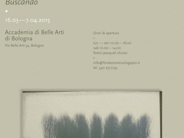 Carlo Gajani in Accademia / Mariacristina Silvestri. Buscando