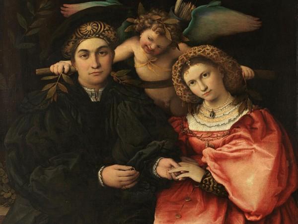 Lorenzo Lotto, Ritratto di Marsilio Cassotti e Faustina Assonica