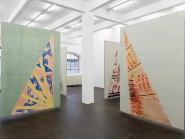Fredrik Værslev. Tan Lines, Fondazione Giuliani, Roma