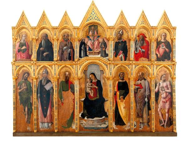 Antonio e Bartolomeo Vivarini con aiuti, Chiesa di Santa Caterina di Galatina
