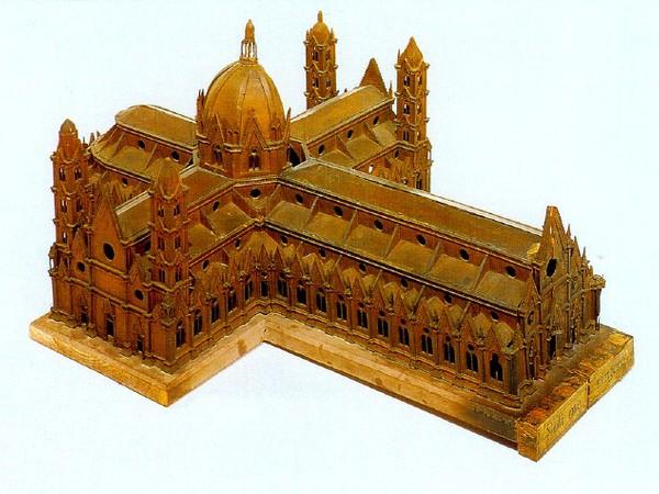 Modello della chiesa di San Petronio