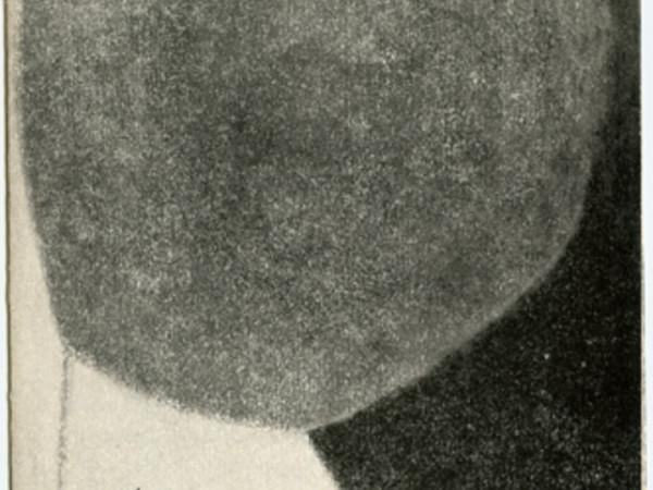 Copertina del catalogo della prima personale di Valentino Vago, curata da Guido Ballo. La mostra fu ospitata al Salone Annunciata dall'8 al 21 ottobre 1960