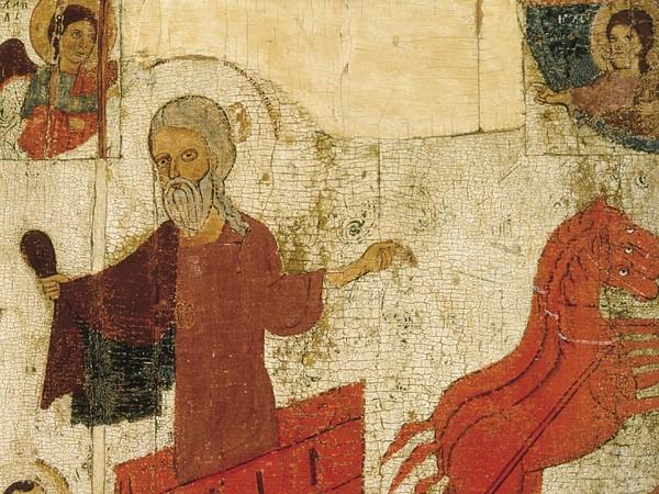 L'ascensione al cielo del profeta Elia