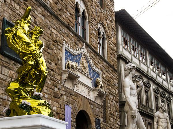 Jeff Koons, Pluto e Proserpina, Firenze