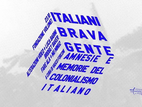 Italiani brava gente. Amnesie e memorie del colonialismo italiano