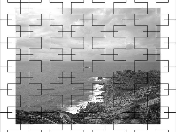Kiluanji Kia Henda, The Geometric Ballad of Fear, 2019, inkjet print on matt paper, 100 x 120 cm.