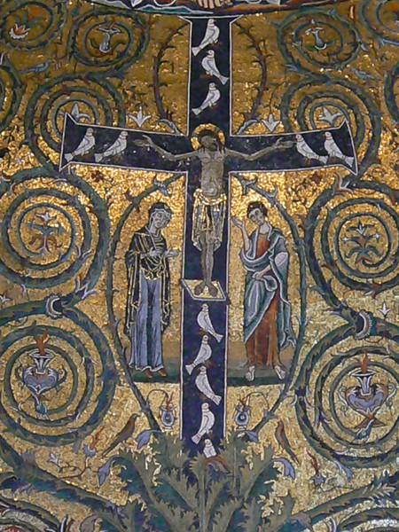 Mosaico Trionfo della Croce