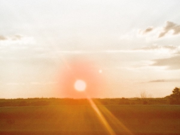 Enrico David, June Sky Sunset