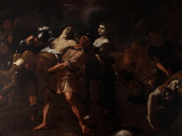 Mattia Preti, Erminia trova Tancredi ferito
