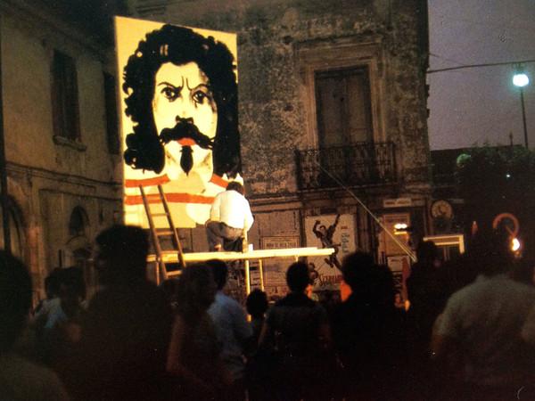 Luigi Mainolfi. Self portrait, 1975