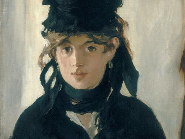 Édouard Manet, Berthe Morisot con un mazzo di violette, 1872, Olio su tela, 40.5 x 55.5 cm, Parigi, Musée d'Orsay | © René-Gabriel Ojéda / RMN-Réunion des Musées Nationaux/ distr. Alinari