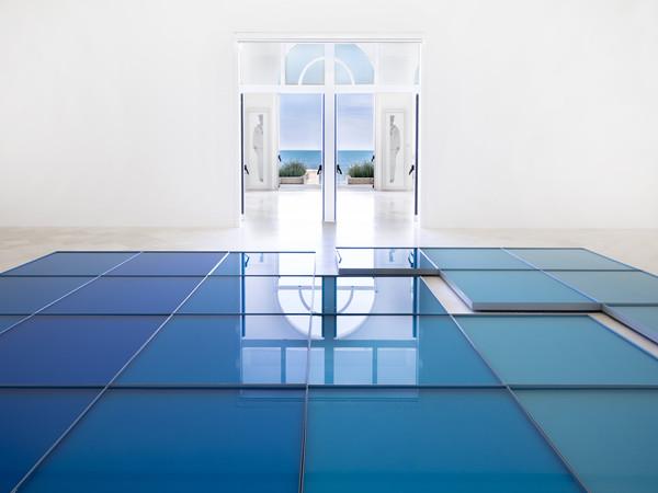 Pino Pascali e Luigi Ghirri, Il mare e il cielo, veduta della mostra