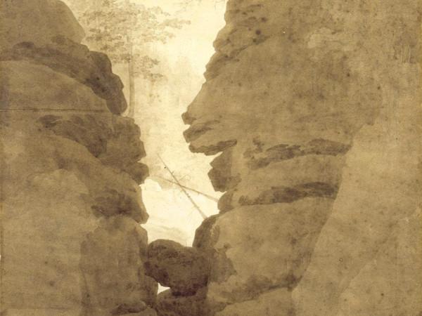 Caspar David Friedrich, Rock Arch in Uttewalder Gund, 1800, Loan from the Museum Folkwang