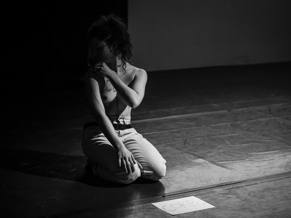 Elena Bastogi durante una sua esibizione