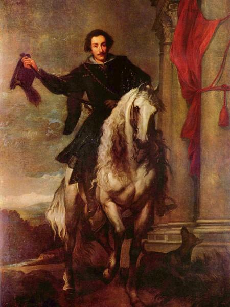 Ritratto di Anton Giulio Brignole-Sale