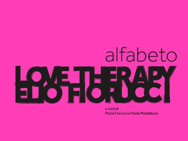 Love Therapy. Alfabeto Elio Fiorucci