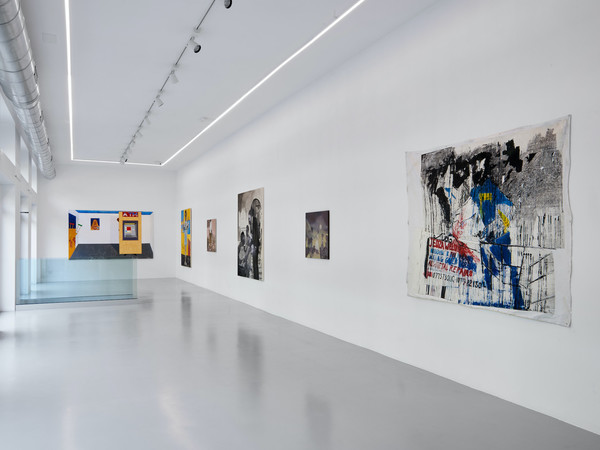 African Character, installation view, Osart Gallery, Milano