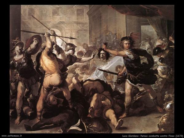 Lotta tra Perseo e Fineo