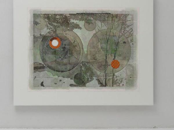 Luigi Carboni, Eretico, 2015-2016, acrilico e olio su tela, cm 200x250