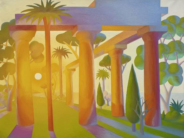 Salvo, Alba, 1989, olio su tela, 200x250 cm.