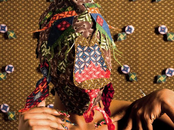 Siwa Mgoboza, Les Etres D'Africadia (Masquer) IV, 59.2 x 42 cm. Ed of 5 + 3AP
