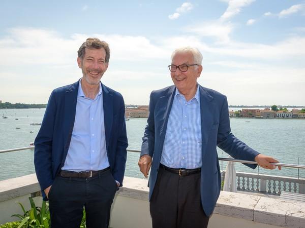Ralph Rugoff e Paolo Baratta