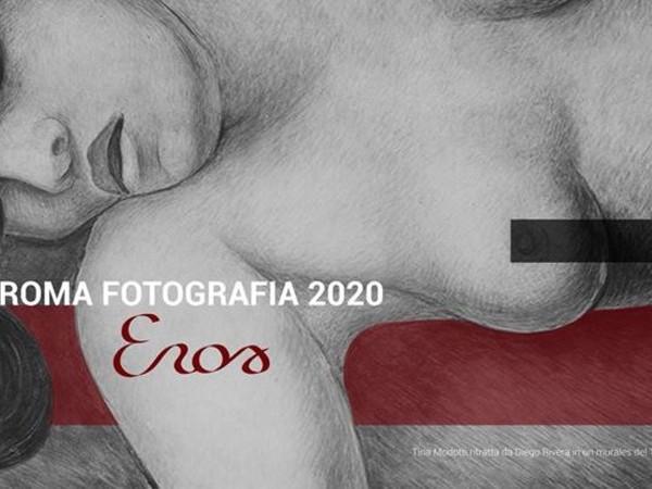 Roma Fotografia 2020 - EROS / Immagine: Tina Modotti ritratta da Diego Rivera in un murales del 1924