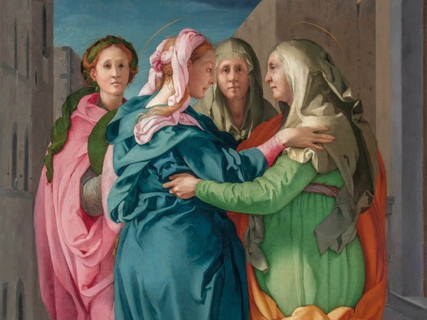 Pontormo, <em>Visitazione</em>, 1528-1530, olio su tela, Carmignano (Prato), Propositura dei Santi Michele e Francesco