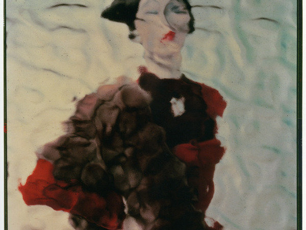 Erwin Blumenfeld, Variant of the photograph published in Vogue US, 1 August 1950