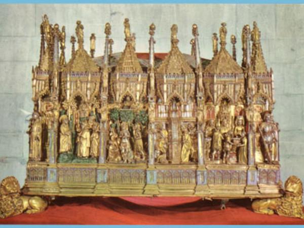 Arca delle ceneri del Battista