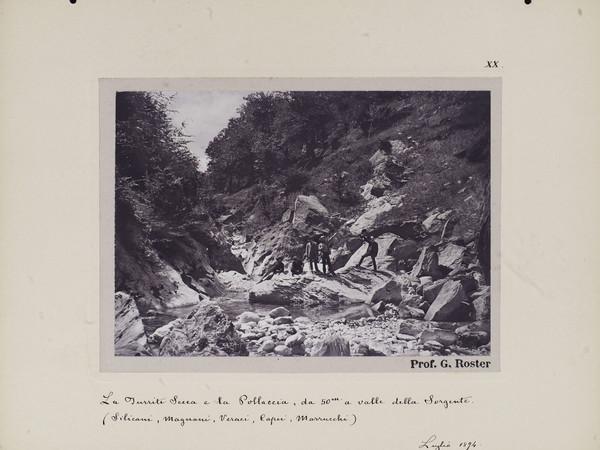 Giorgio Roster, Il bacino della Pollaccia e il torrente Turrite Secca nelle Alpi Apuane, 1894