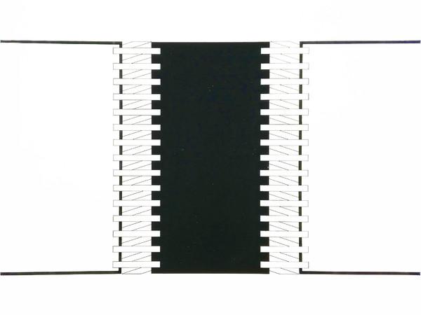 Natalino Tondo, Spazio di progettazione, 1970, tempera su carta