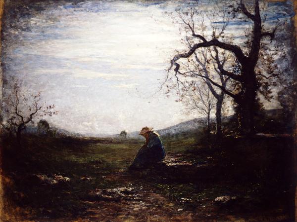 Antonio Fontanesi, La Solitudine, 1875. Musei Civici di Reggio Emilia