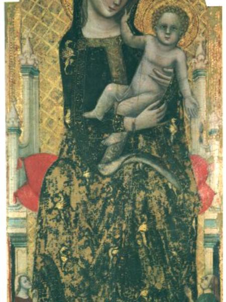 Madonna col Bambino e donatori, detta Madonna dei denti