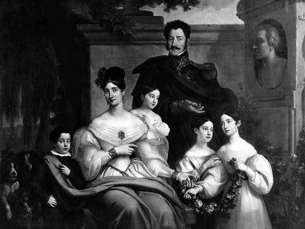 Natale Carta,<em> La famiglia di Carlo Filangieri</em>, Opera perduta