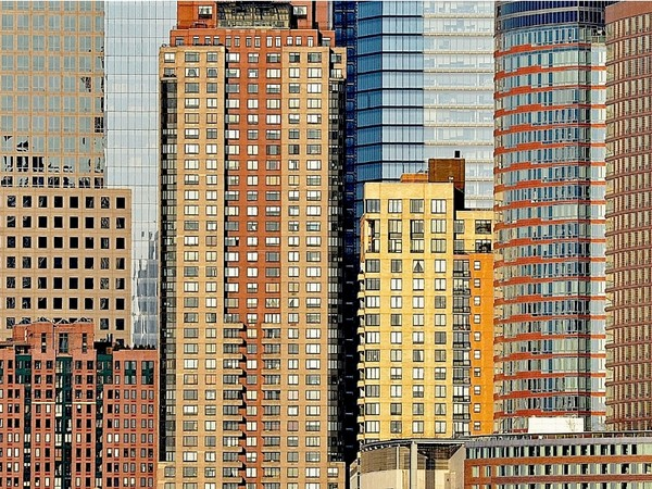 Stefano Degli Esposti, Windowntown, New York, serie Citypatterns, 2013